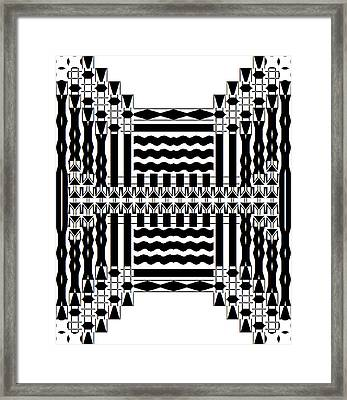 Soundwaves Framed Print