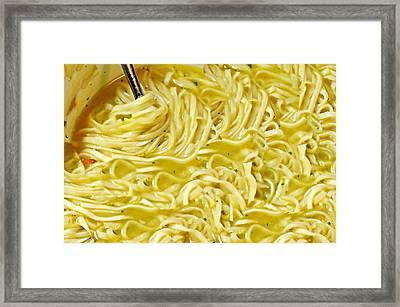 Soupy Framed Print by Diana Angstadt