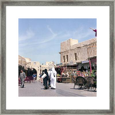 Souq Life Framed Print by Paul Cowan