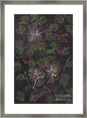Sour Framed Print by Dawn Fairies