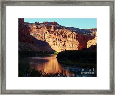Source Of Colorado River Framed Print by Eva Kato