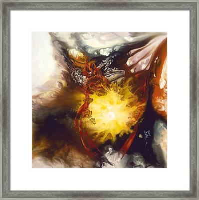 Source Of Strength Framed Print by Karina Llergo