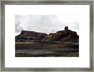Source Of The Mud Flood Framed Print by Lon Casler Bixby