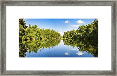 Source Of The Neckar River Framed Print by Panoramic Images