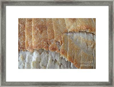 Sourdough Crust Framed Print by Mary Deal
