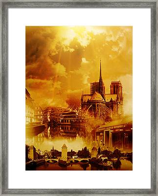 Rud#007 - France Framed Print
