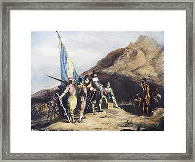 South Africa, 1652 Framed Print by Granger