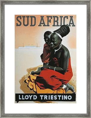 South Africa  Framed Print by Anonymous