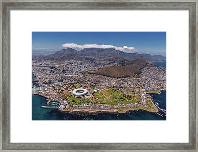 South Africa - Cape Town Framed Print by Michael Jurek