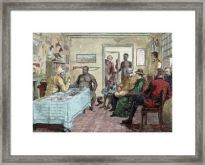 South Africa Conference Held Framed Print by Prisma Archivo