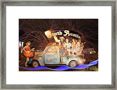 South Austin Framed Print