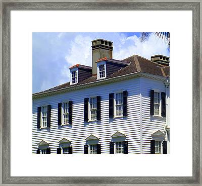 South Battery Beauty Framed Print by Randall Weidner