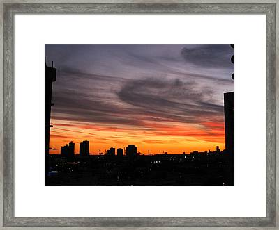South Beach - 121250 Framed Print by DC Photographer