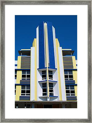 South Beach 2 Framed Print