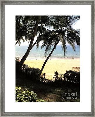 South Beach - Miami Framed Print