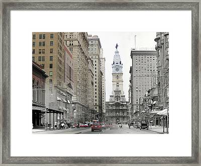 South Broad Street Framed Print