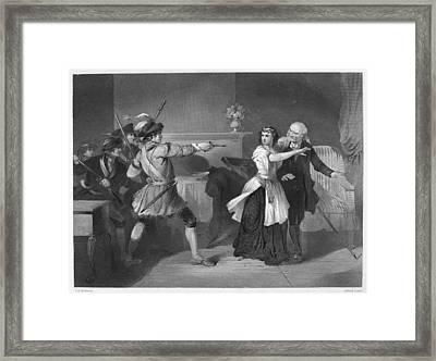 South Carolina: Loyalists Framed Print by Granger