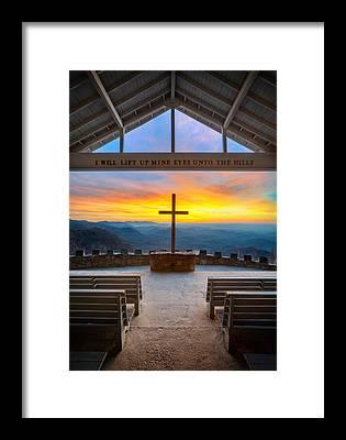 Chapel Framed Prints