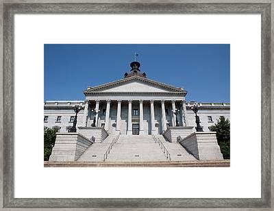 South Carolina State Capital Building Framed Print