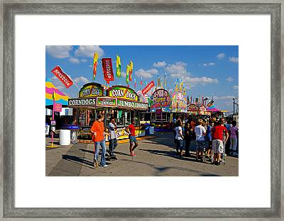 South Carolina State Fair Framed Print