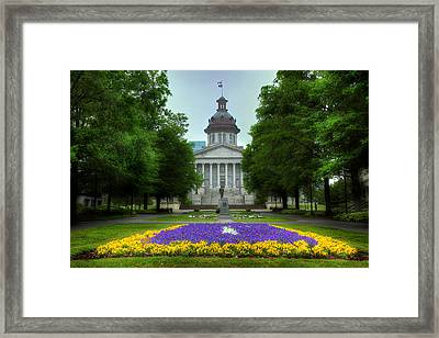 South Carolina State House Framed Print