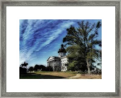 South Carolina State House Framed Print
