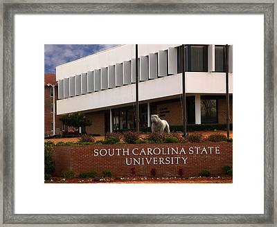South Carolina State University 2 Framed Print