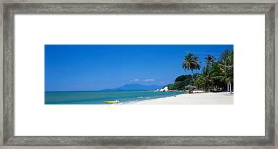 South China Sea Malaysia Framed Print