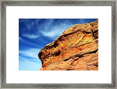South Coyote Buttes 6 Framed Print