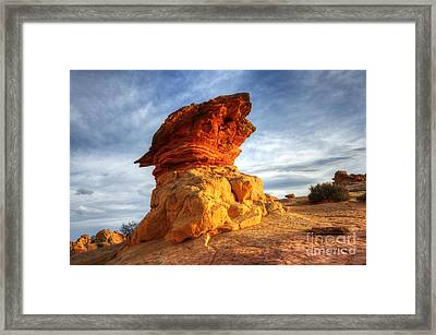 South Coyote Buttes 7 Framed Print