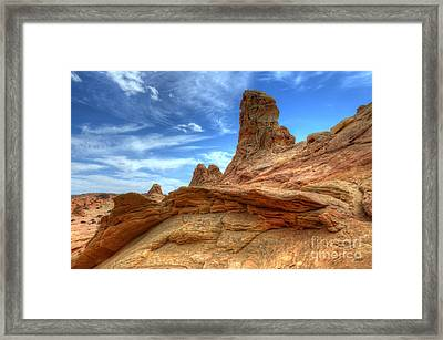 South Coyotte Buttes 8 Framed Print