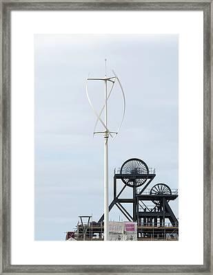South Crofty Framed Print by Ashley Cooper