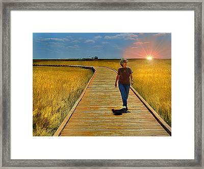 South Dakota Prairie 1 Framed Print