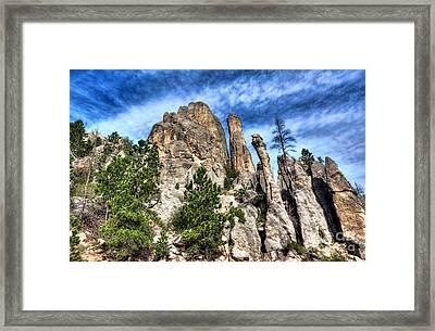 South Dakota Rocks 3 Framed Print