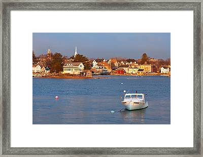 South End Sunrise Framed Print by Eric Gendron