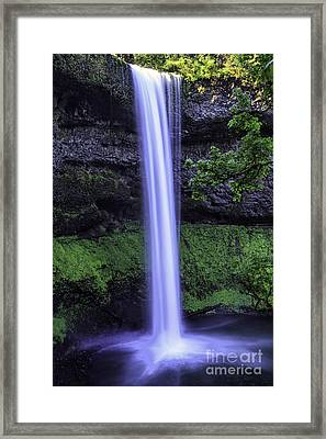 South Falls II Framed Print