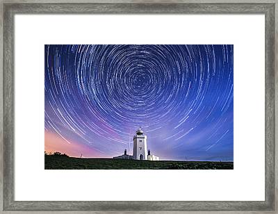 South Foreland Lighthouse.  Framed Print