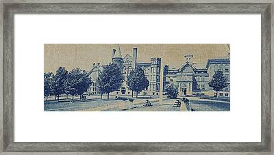 South Hall, Administration Building And North Hall Framed Print by Artokoloro