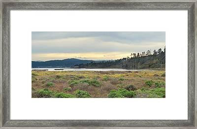 South Humboldt Bay Framed Print