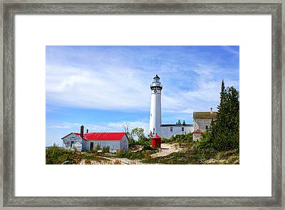South Manitou Island Framed Print by Bruce Wilbur