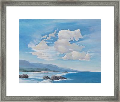 South Of Carmel Framed Print
