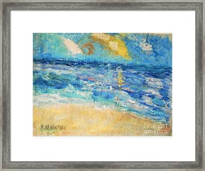 South Of France Framed Print