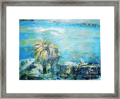 South Of France    Juan Les Pins Framed Print