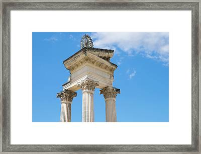 South Of France, St Framed Print by Emily Wilson