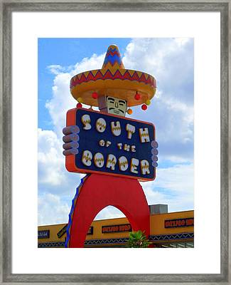 South Of The Border 10 Framed Print