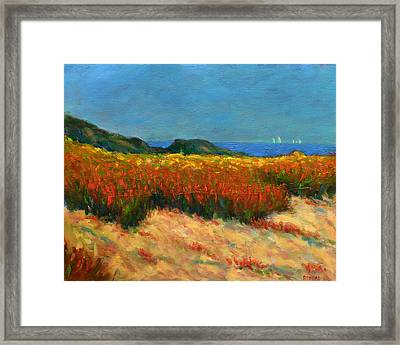 South Of The Island Framed Print