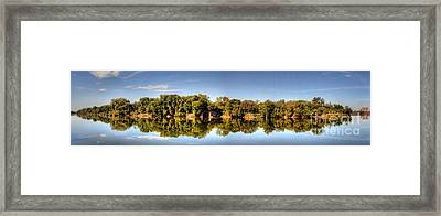 Framed Print featuring the digital art South Of The James by Kelvin Booker
