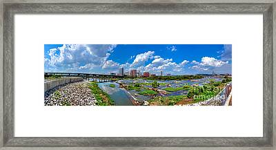 South Of The Rivah Framed Print by Tim Wilson