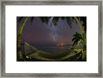 South Pacific, Cook Islands, Aitutaki Framed Print