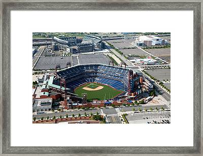 South Philadelphia Sports Complex Philadelphia Pennsylvania Framed Print by Bill Cobb